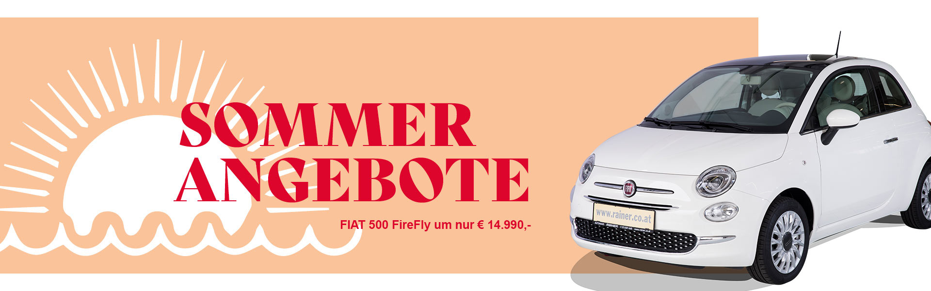 Sommer Angebote Fiat